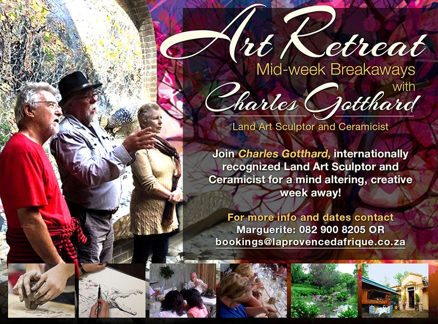 Art Retreats with Charles Gotthard